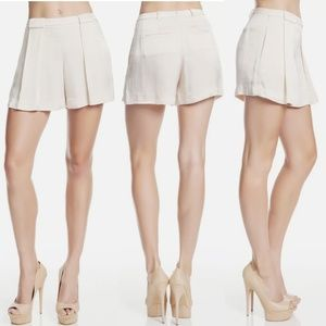 Robert Rodriguez Women's Pleated Paper Bag Shorts